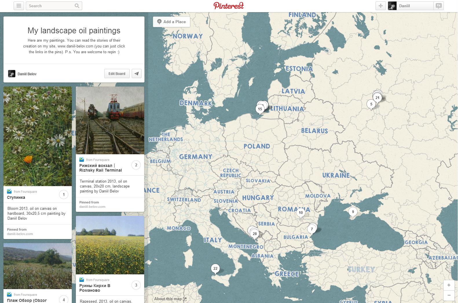 place pins pinterest landscape world map