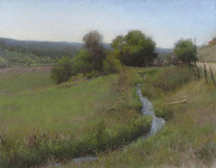 Denise La Rue Mahlke painting