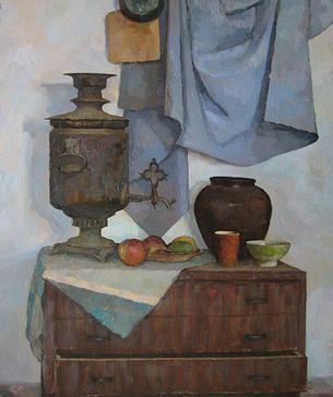 Ссылка ведет на один из натюрмортов маслом художника Даниила Белова