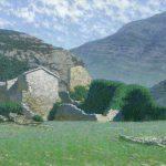Старый Бар - пейзаж Даниила Белова
