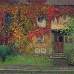 Осенний пейзаж художника Даниила Белова